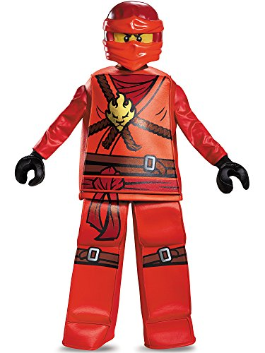 Create Halloween Costume (Disguise Kai Prestige Ninjago Lego Costume,)