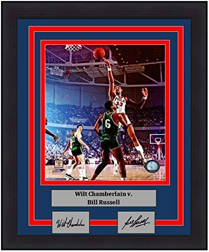 Wilt Chamberlain v. Bill Russell 76ers 8