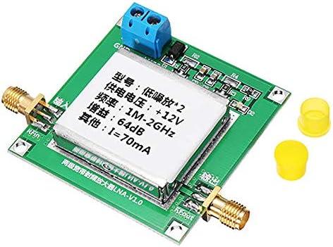 0.1-2GHz 64dB Gain RF Broadband Amplifier Module Low Noise L