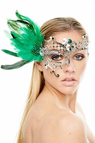 Coque (Green Masquerade Masks)