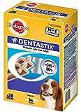 Pedigree Dentastix Dental Dog Chews - Medium Dog, Pack of 4 (Total 4 x 28 Sticks)
