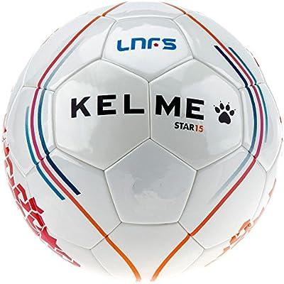 KELME Balón Fútbol Sala LNFS -Blanco-: Amazon.es: Deportes y aire ...
