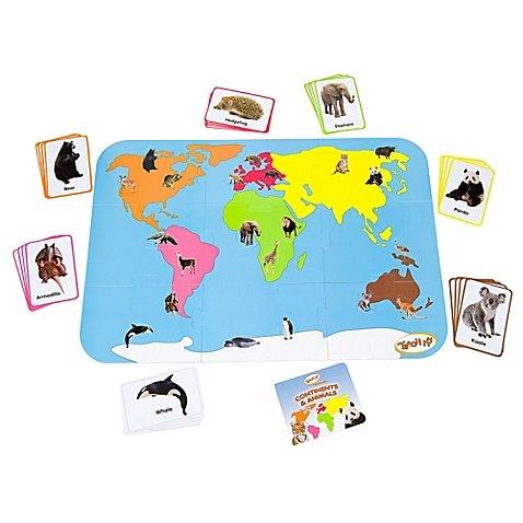 Doug World Map Floor - 7