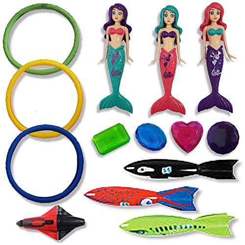 ArtCreativity Swimming Pool Diving Water Toys for Kids