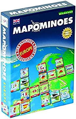 The Ultimate Geography Game MAPOMINOES EUROPE Fun and educational travel