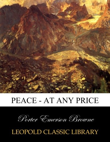 Download Peace - at any price pdf epub