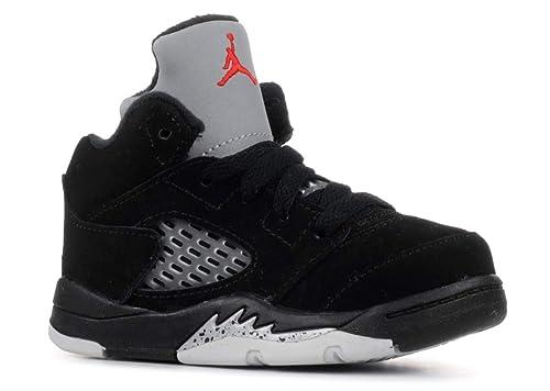 design de qualité e6e6e ec706 Nike Jordan 5 Retro BT, Sneakers Basses Mixte bébé: Amazon ...