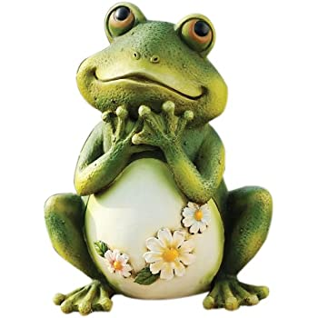 Exceptional Joseph Studio 65904 Tall Frog Sitting Up Garden Statue, 9.5 Inch