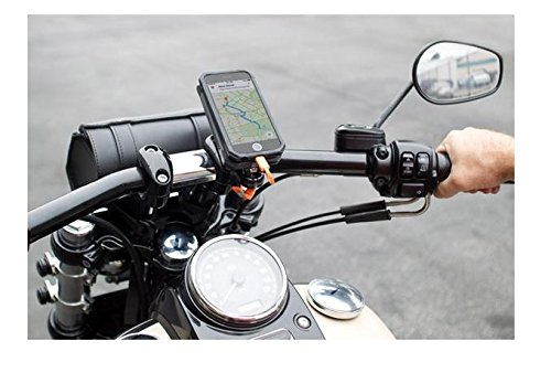 RokForm Polished Aluminum Motorcycle Mount