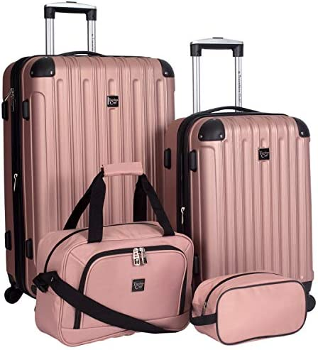 Travelers Club 4 Piece Midtown Luggage Set