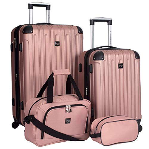Travelers Club 4 Piece Midtown Luggage Set