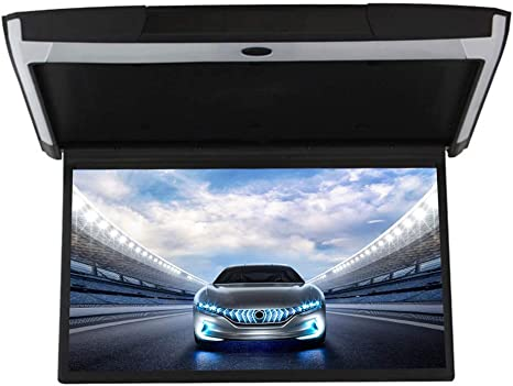 LWTOP Nuevo Coche Android Techo Pantalla 17 Pulgadas Coche HD TV Techo MP5 Pantalla HDMI: Amazon.es: Deportes y aire libre