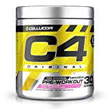 Cellucor C4 Original Explosive Pre-Workout Supplement, Pink Lemonade, 6.3 Ounce