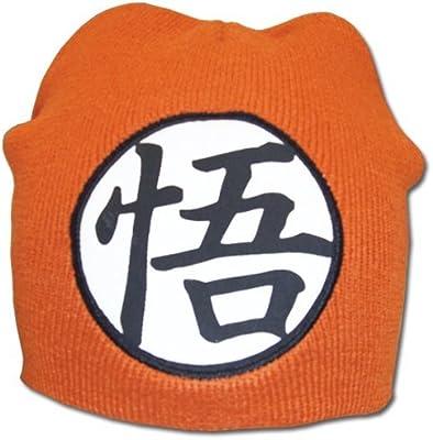 Gran Entretenimiento Oriental Dragon Ball z Goku s/ímbolo Beanie Great Eastern Entertainment Co