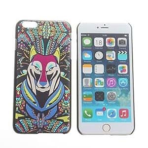 WQQ patrón lobo duro de la contraportada para el iPhone 6 Plus