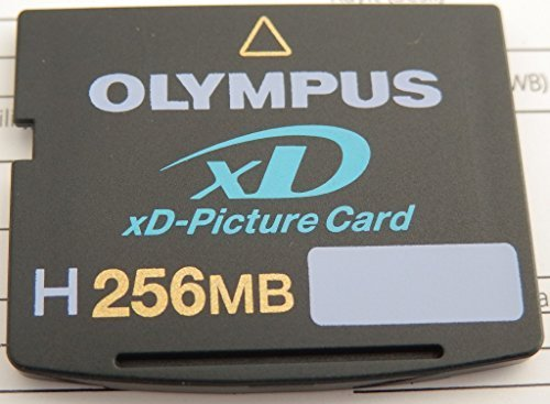 Olympus Xd H-256mb Picture Card (Olympus 202030 H-256 MB xD Picture Card (Retail Package), Model: 202030, Electronic Store &)
