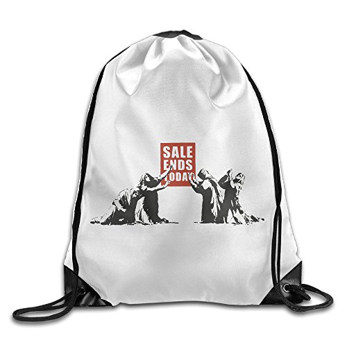 Price comparison product image Arts Drawing SALE ENDS Today Sports Fan Drawstring Backpack Bags
