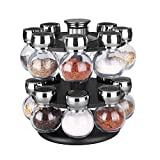 Home Basics SR44072 16 Piece Revolving Spice Rack