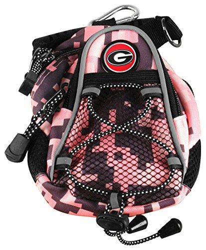 LinksWalker NCAA Georgia Bulldogs - Mini Day Pack - Pink Digi - Digi Ncaa Camo
