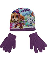 Paw Patrol Skye and Everest Winter Beanie Hat and Gloves Set By BestTrend