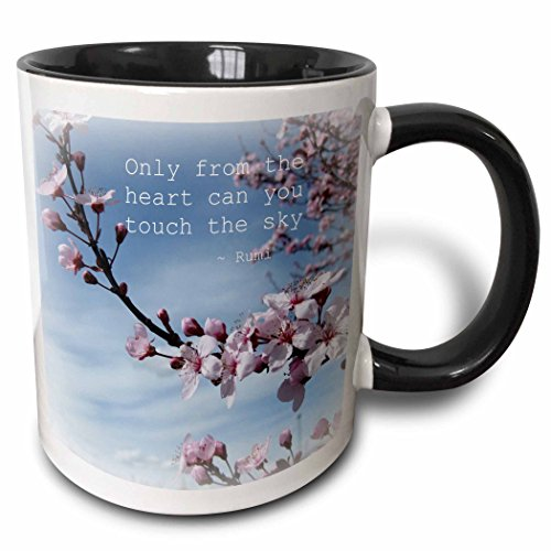 3dRose mug_30863_4 Inspirational Blossom Multicolor