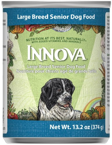 Innova Large Breed Senior Canned Dog Food, 13.2-oz, case of 12