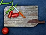 Natural Wooden Cutting Chopping Board Hand Carved Flexible Chef Board for Cutting Meat Veggie Bread Crackers Fruits Spices Durable Kitchen Essential Serveware Accessories