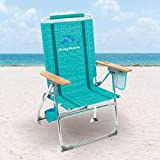 Tommy Bahama 7 Position Hi-Boy Suspension Beach Chair, Green