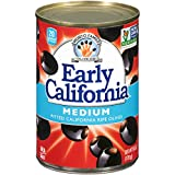 Early California Ripe Pitted Medium Black Olives, (12) 6-Ounce Cans: more info