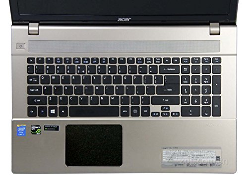 BingoBuy 5 pieces Customized Free Cut Trackpad Touchpad Area Decorative Cover Skin Protector Sticker for 17.3'' Acer Aspire V3-772, V3-772G (matte (Acer Modem)