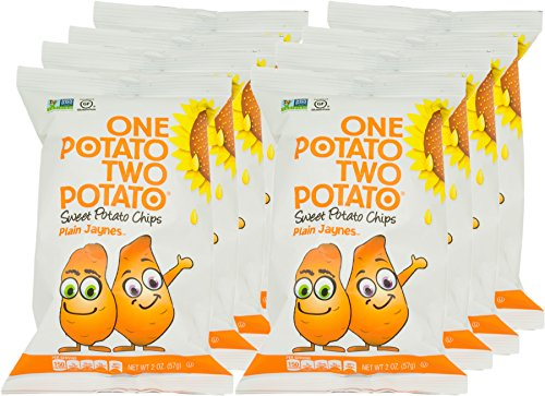 One Potato Two Potato, Sweet Potato Kettle Potato Chips, 2 oz