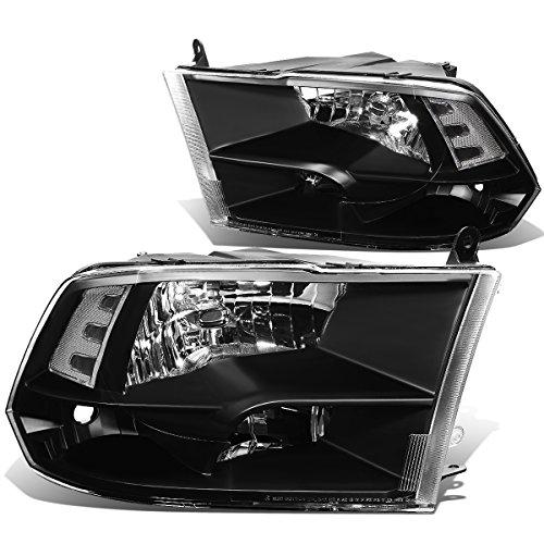 DNA Motoring HL-OH-DR09QUA-BK-CL1 Headlight (Driver & Passenger Side) ()