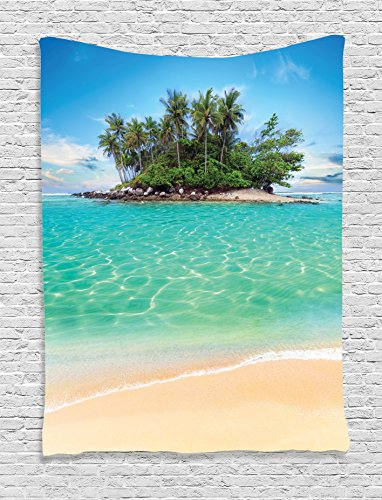 Ambesonne Collection Tropical Honeymoon Destination product image