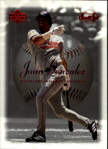 2001 Sweet Spot Baseball Card #95 Juan Gonzalez Near (2001 Sweet)