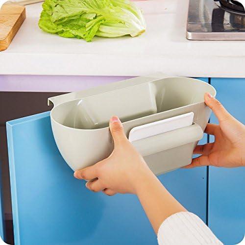 CrazySell Secuaces Creative Multifuctional pl/ástico Cocina Organizador de Escritorio Colgar Desperdicio de Alimentos Basura Basura Basura Basura Caja de Almacenamiento Dormitorio Cajas Soporte