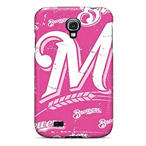 Wgh2193TGJF Milwaukee Brewers Awesome High Quality Galaxy S4 Case Skin