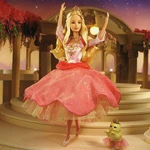 Mattel Barbie y las 12 princesas - Muñeca Barbie bailarina interactiva