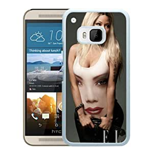 Beautiful Designed Cover Case For HTC ONE M9 With Nicki Minaj White Phone Case