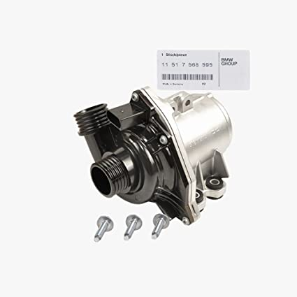 BMW Engine Water Pump Electric Cars With Auxiliary A/C Genuine OE  11517568595 / 11510392553 X5