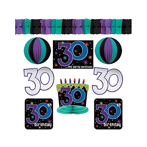 30th Celebration Decorating Kit, Birthday -
