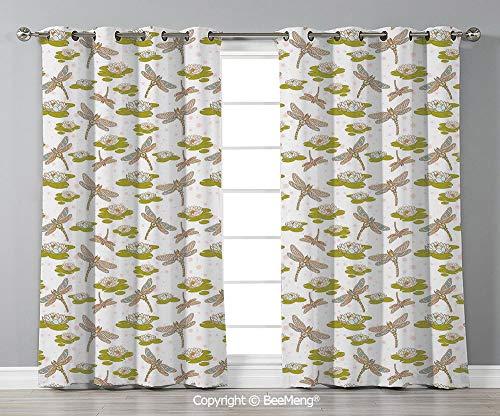 Bedroom Living Room Curtain Set of 2 Panels(84