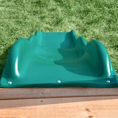 Swing-N-Slide Green Cool Wave Slide, Metal, For Children Ages 2 to 10 Years by Wave Slide (Image #4)