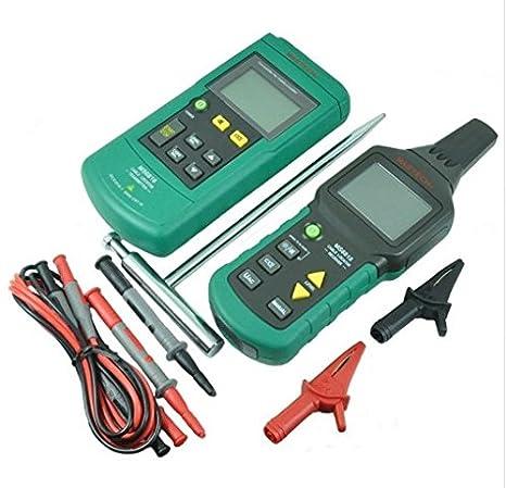 GOWE profesional tubo de metal cable de alambre Tracker Localizador Detector Tester Meter 12 ~ 400 V vs FLUKE 2042: Amazon.es: Bricolaje y herramientas
