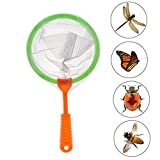 6 Pack Butterfly Nets Insects Catching Bugs Fishing Outdoor Playing Nature Exploration Tools for Kids