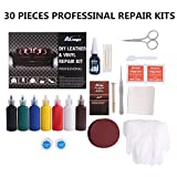 Leather and Vinyl Repair and Restoration Kit for Couch,Car Seats,Handbags,Jackets,Purse,Boots,Match Any Color and Long Lasting Color Restoration,Pack of 30 Pieces