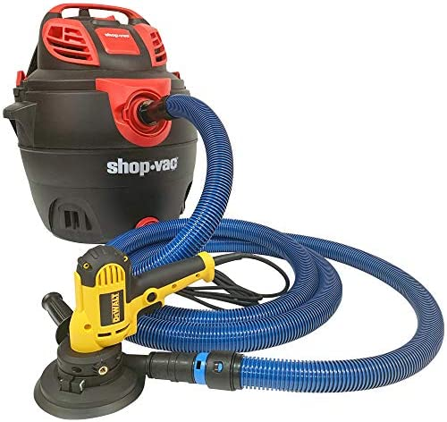 Amazon Com Cen Tec Systems 94434 Antistatic Wet Dry Vacuum Hose For Shop Vacs With Universal Power Tool Adapter Set 16 Ft Blue Home Kitchen