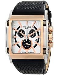 MULCO Unisex MW1-29785-123 Analog Display Swiss Quartz Black Watch