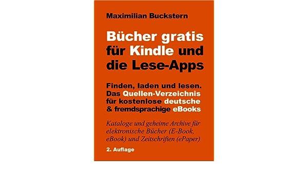 Bücher gratis für Kindle und die Lese-Apps - Finden, laden, lesen ...