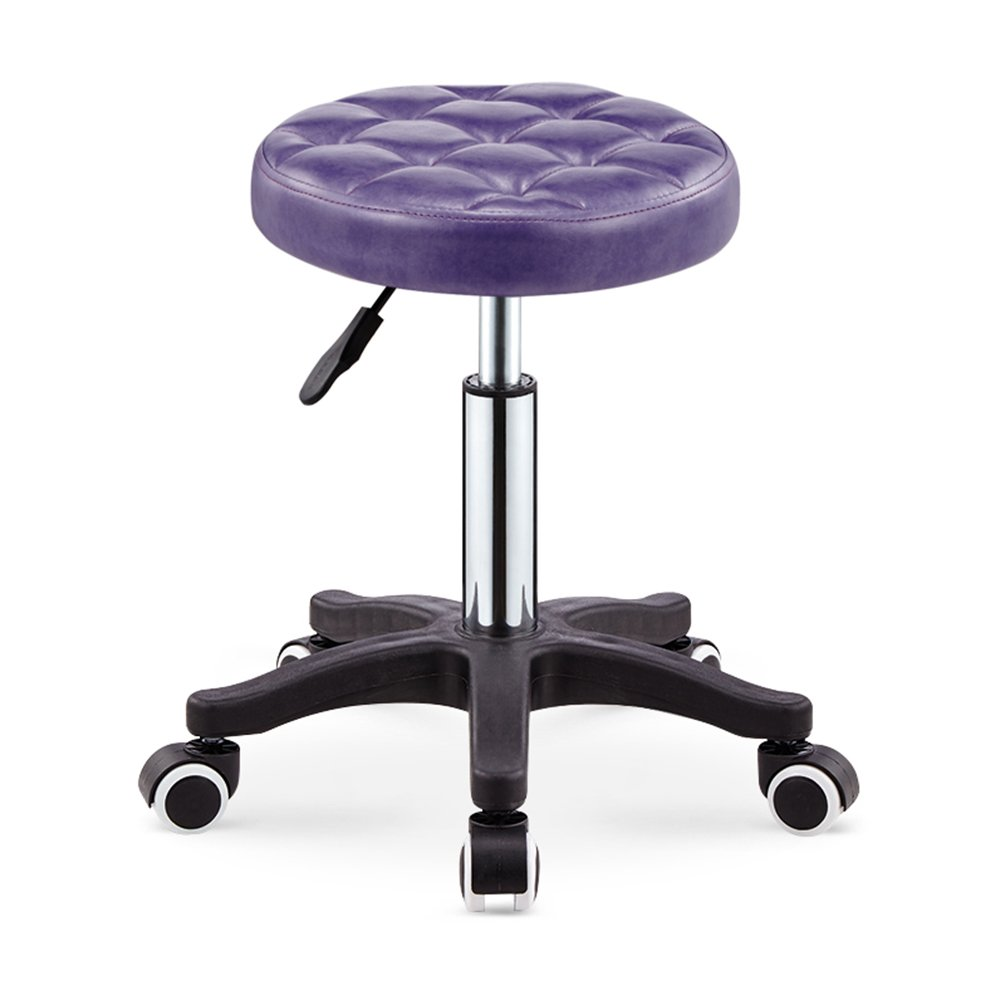 IAIZI 美容スツール理容師の理髪店スチールベンチ美容椅子スツール (色 : D) B07DJ6FDSQ D D