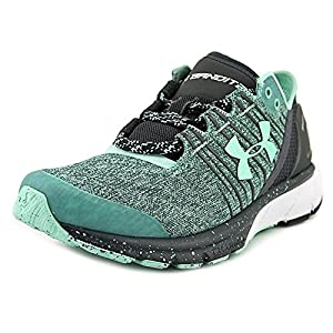Under Armour Women's UA Charged Bandit 2 Crystal/Stealth Gray/Crystal Sneaker 6 B (M)